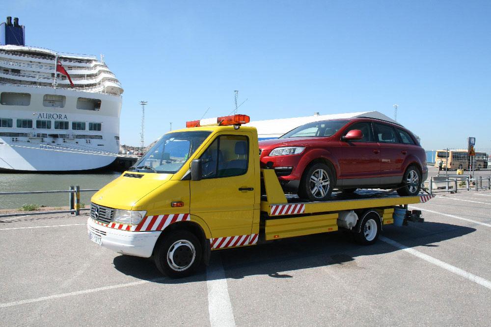 Automašīnu transportēšana no Eiropas