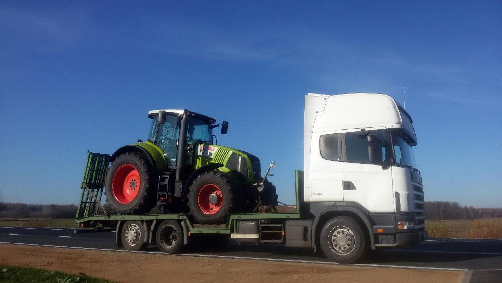 Traktora transportēšana Imola